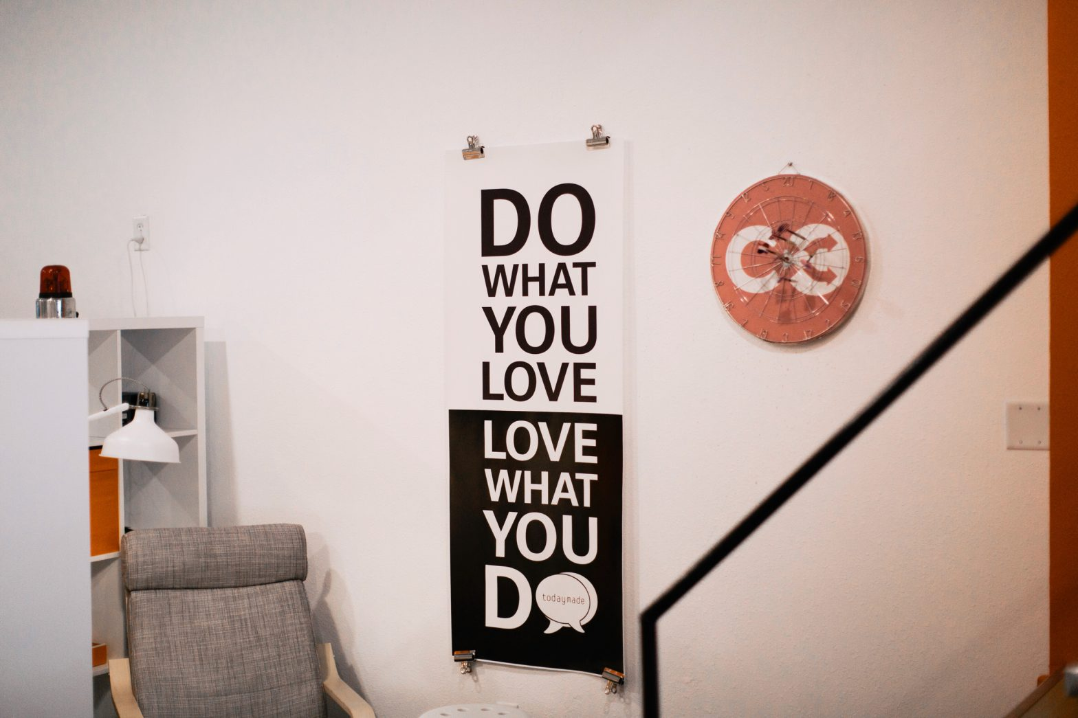 Do what you love, love what you do poster