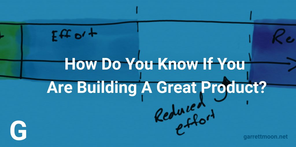 How Do You Know If You Are Building A Great Product?